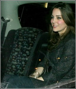 Kate Middleton leaving Boujis Club, London 08/02/2007 Picture must be credited ©RB-Photofab/Alpha