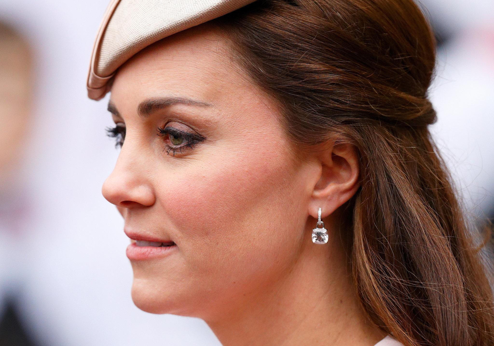Kiki Mcdonough Morganite Cushion Drops Kate Middleton S