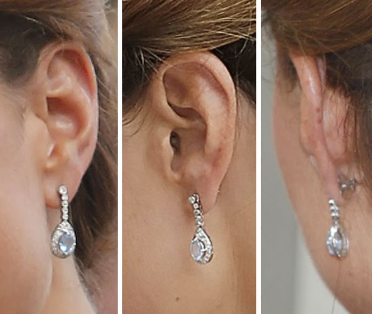Aquamarine Drop Earrings Kate Middleton S Jewelry