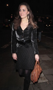 December 13, 2007: Prince William (not pictured), Prince Harry (not pictures) and Kate Middleton party at Boujis Night Club in London. Credit: Goff/INFphoto.com Ref: kguk-49|sp|US, CANADA, JAPAN, SINGAPORE AND SOUTH AFRICA SALES ONLY