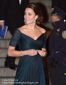 The Duke and Duchess of Cambridge depart the St. Andrews 600th Anniversary Dinner at the Metropolitan Museum of Art, New York, USA on December 9, 2014.Pictured: Duchess of Cambridge, Catherine, Kate MiddletonRef: SPL909157 091214 Picture by: James WhatlingSplash News and PicturesLos Angeles:310-821-2666New York:212-619-2666London:870-934-2666photodesk@splashnews.com